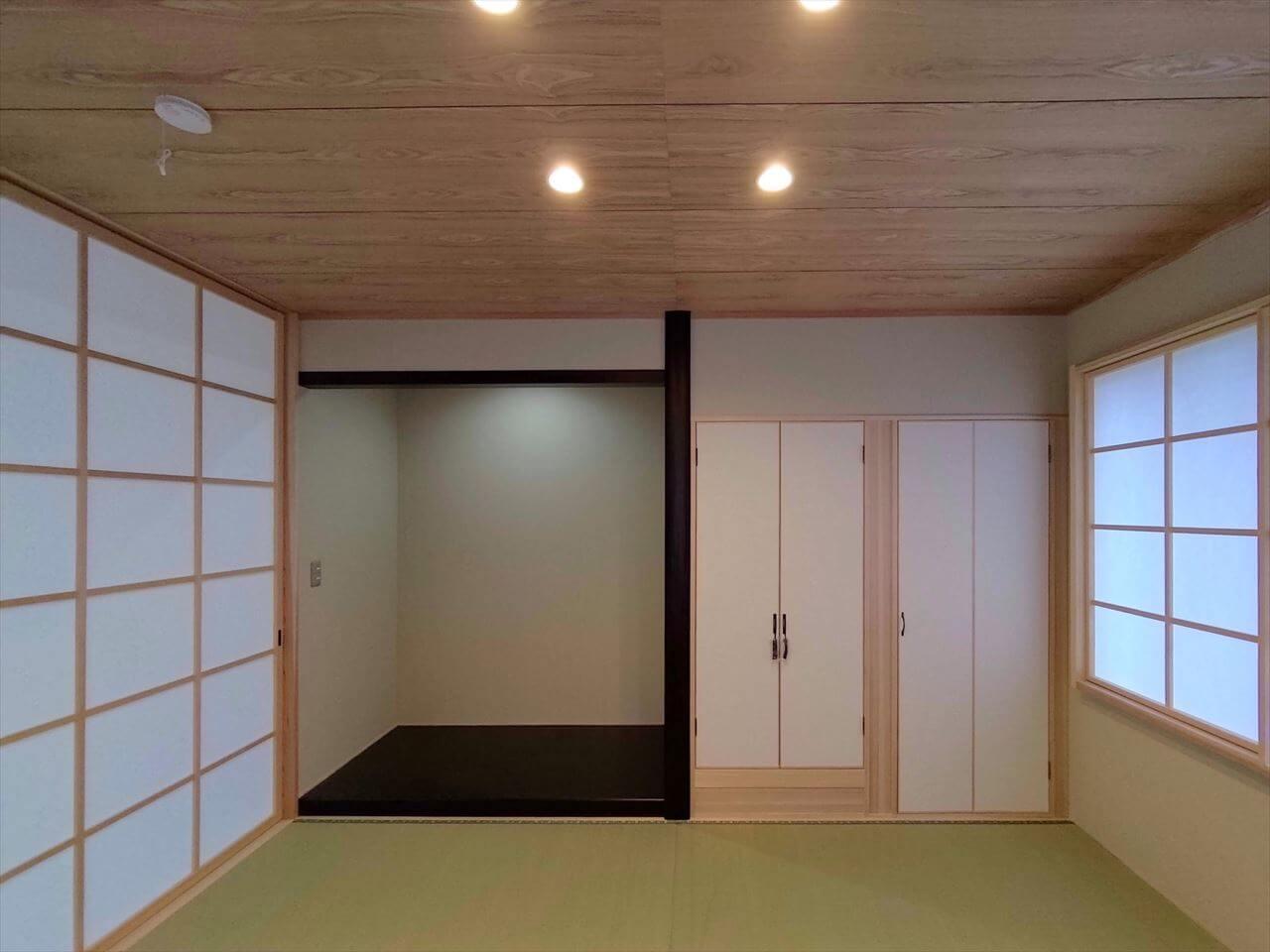 有泉の家:和室床の間