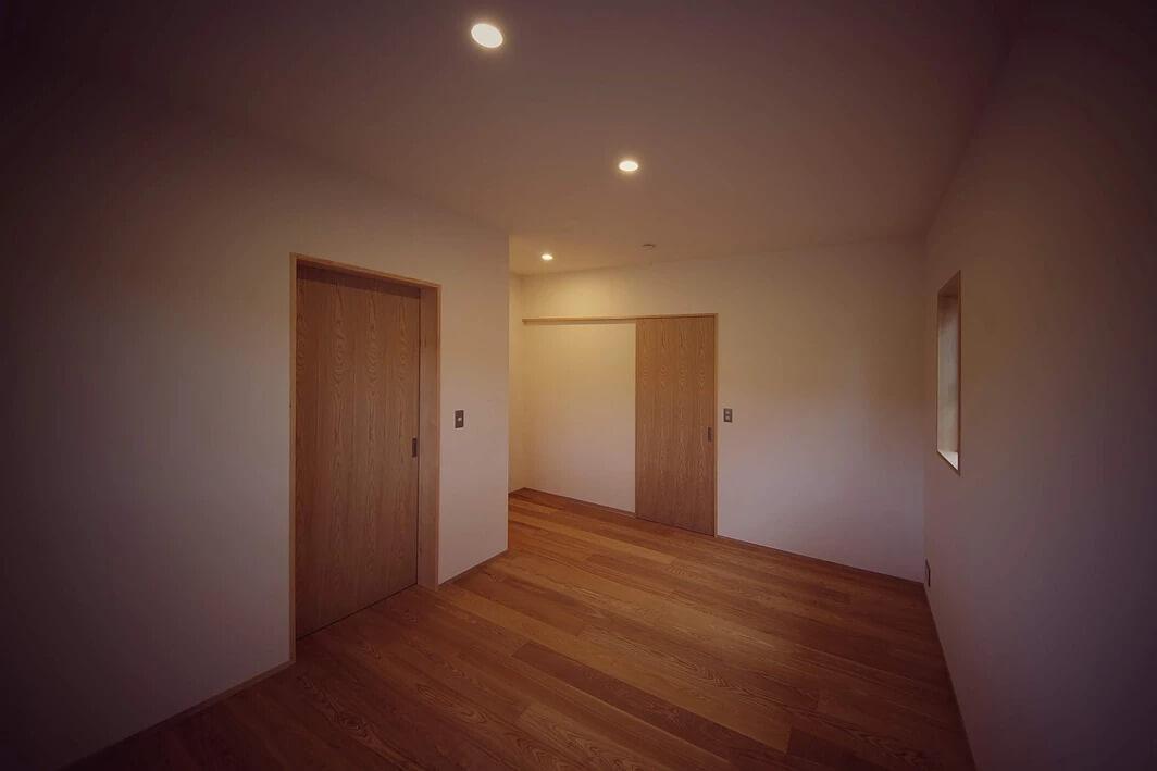 しらぬひの家:居室