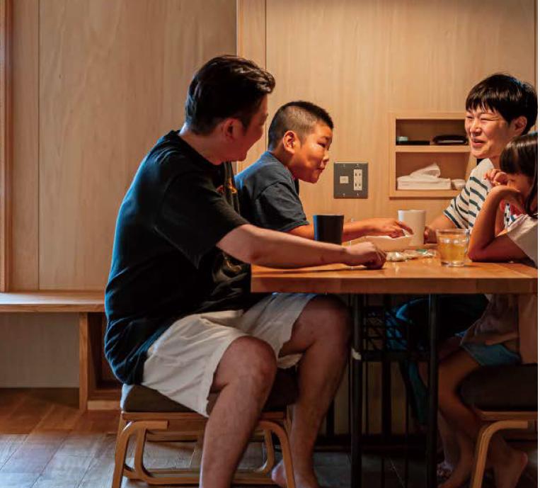 熊本市南区 ご夫婦+お子様2人